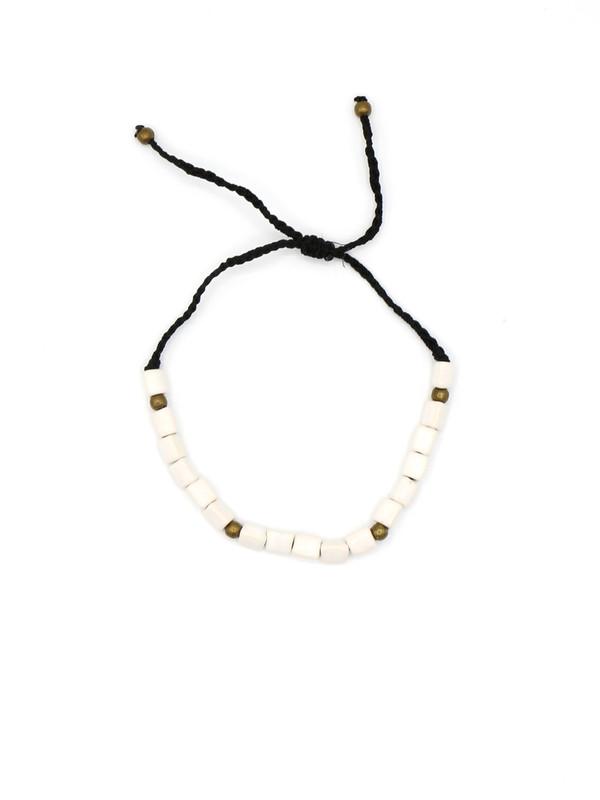 Contemporary Ceramic Bracelet - White