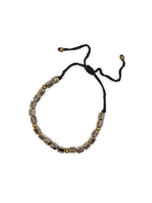 Contemporary Ceramic Bracelet - Black