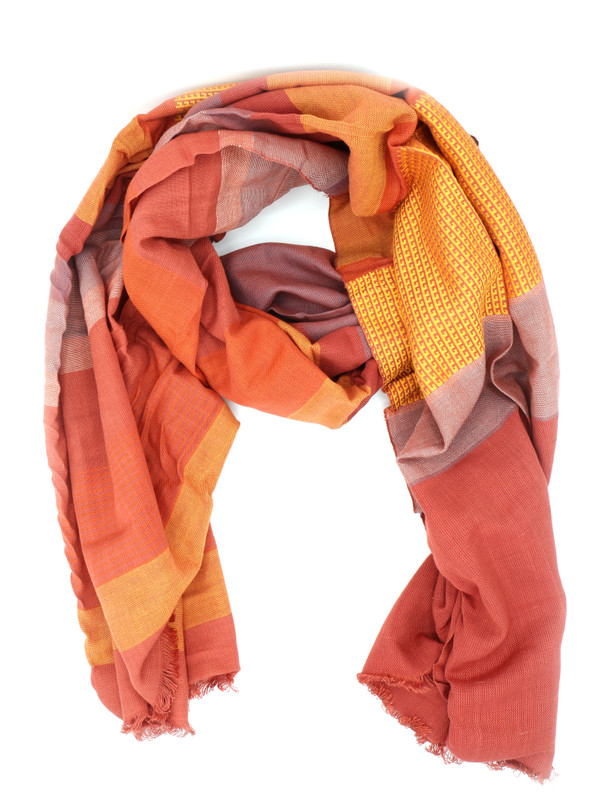 Woven Sunset Scarf