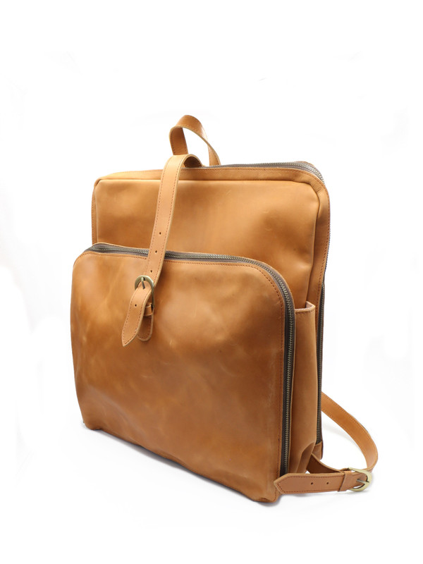 Voyager Leather Backpack