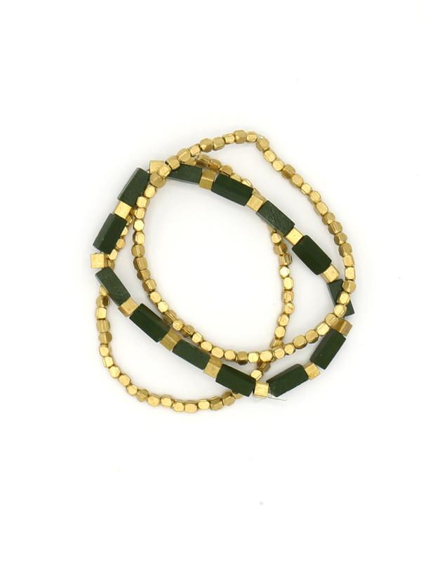 Prairie Glitz Elastic Bracelet Set