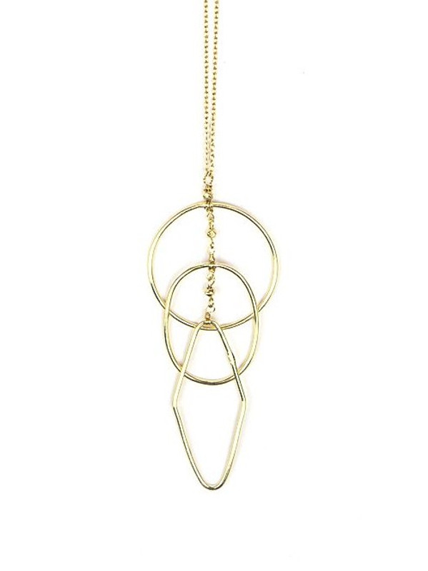 Ripples Necklace - Gold