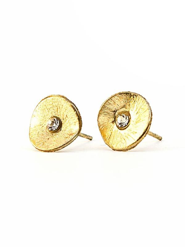 Poppy Studs - Gold