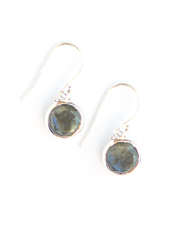 Reflection Sterling Earrings - Labradorite