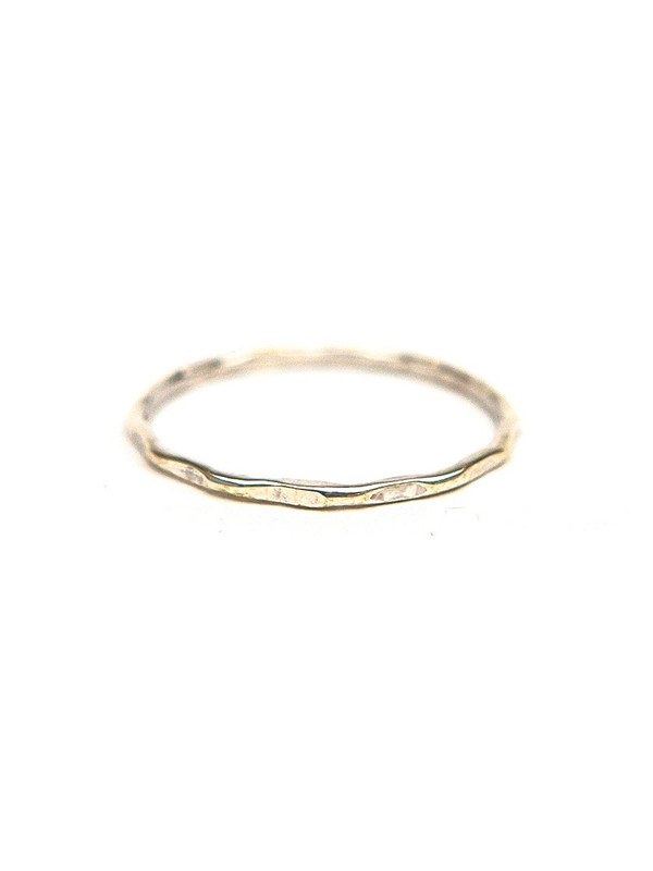 Sterling Stacking Rings - Textured