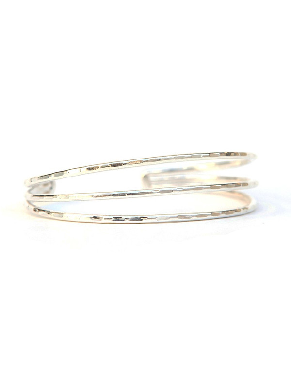 Simple Lines Cuff - Textured