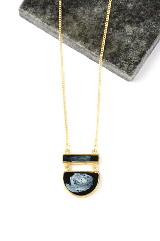 Midnight Pendant Necklace