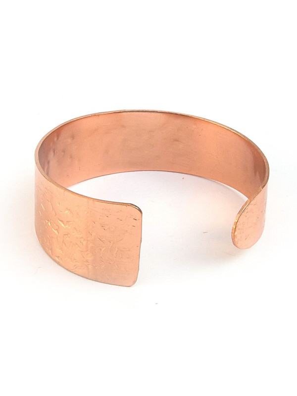 Hammered Cuff - Copper