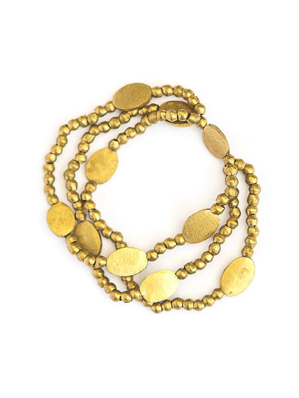 Wudasi Triple Strand Elastic Bracelet