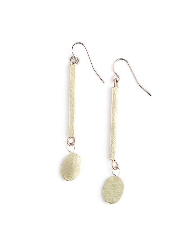 Seble Dangle Earrings - Silver