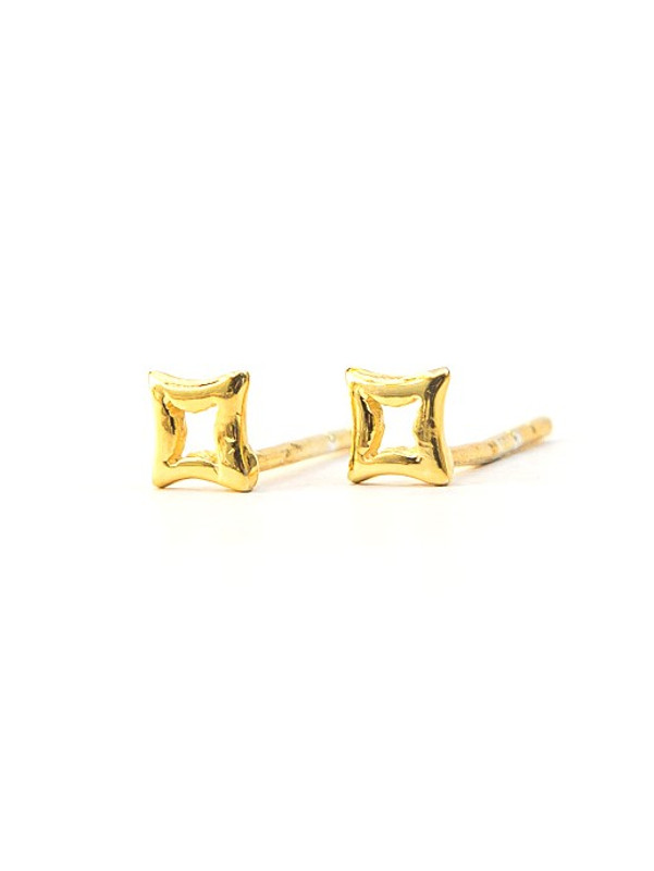 Star Studs - 14k Gold