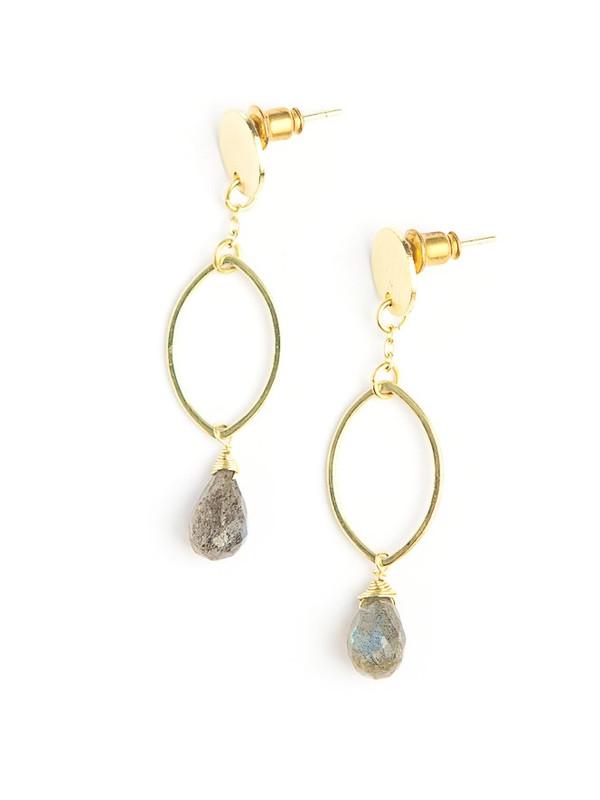 Transformation Labradorite Earrings