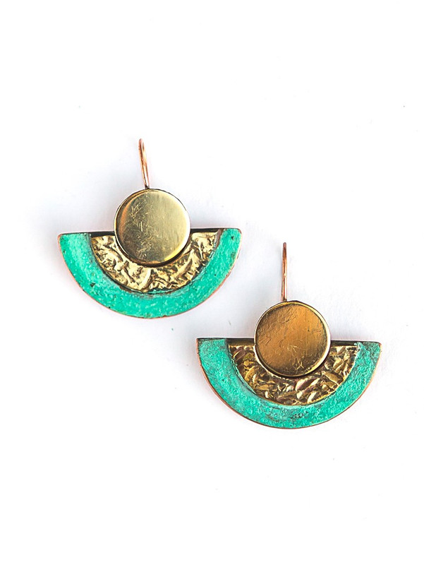 Pueblo Patina Earrings