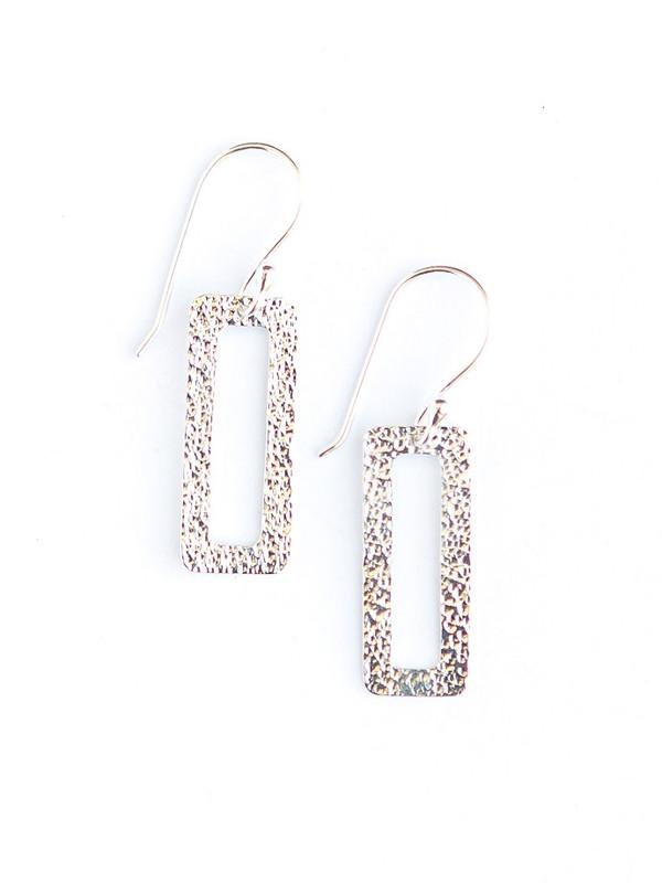 Winter Window Sterling Earrings