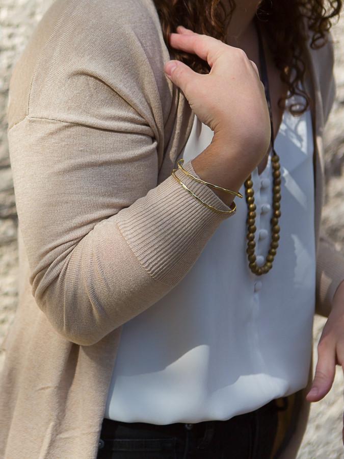 lightweight adjustable cuff | Fair Anita