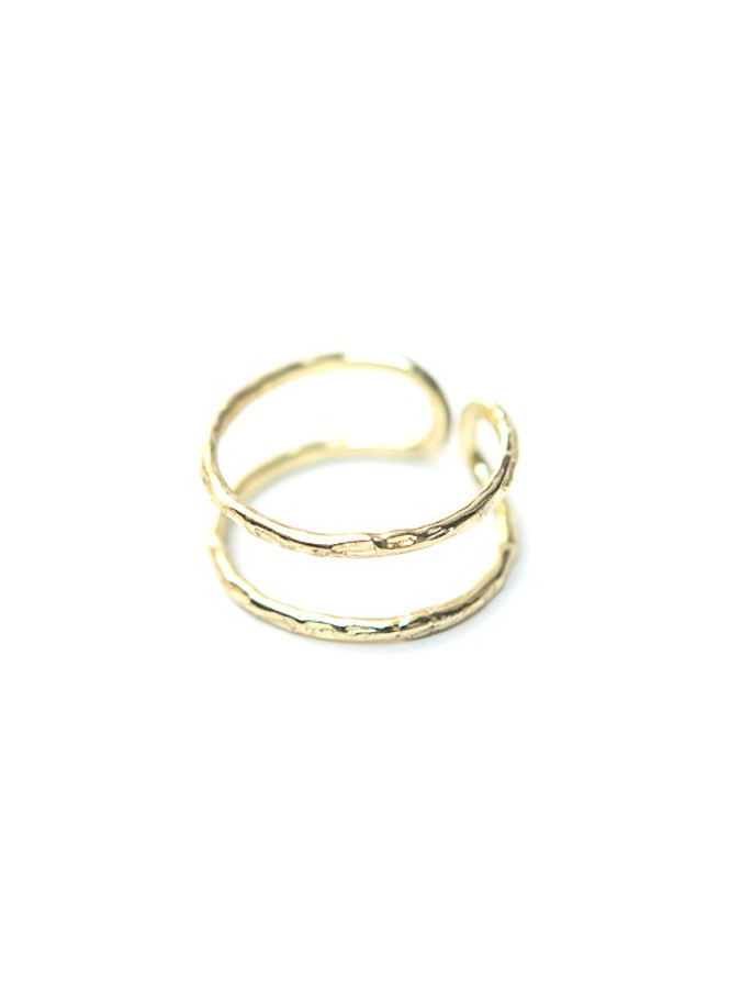 Illusion Ring in Brass