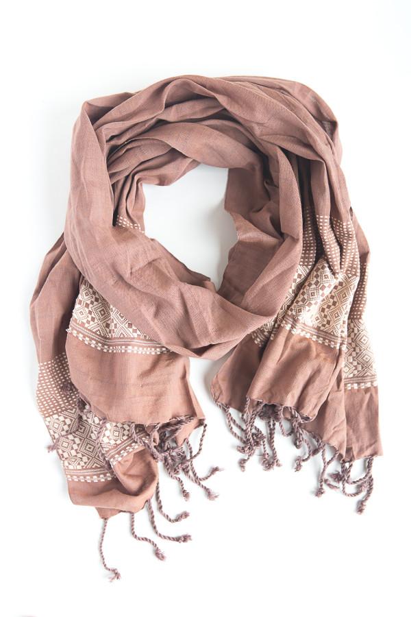 Light pink fair trade scarf | Fair Anita