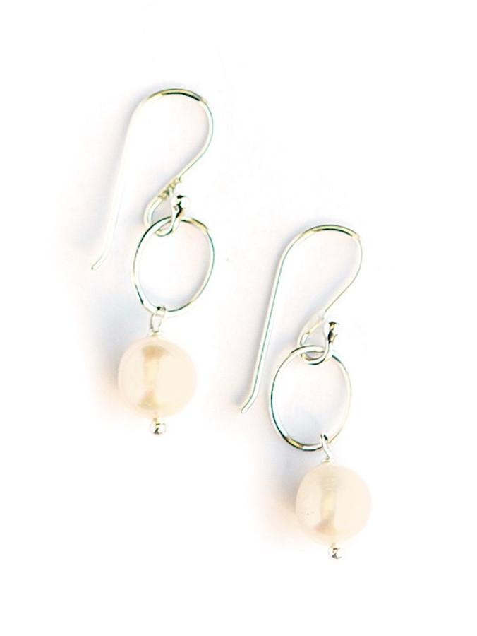 Camila Freshwater Pearl Sterling Earrings