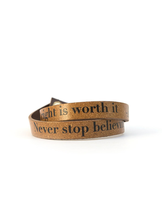 Hillary Clinton quote bracelet | Fair Anita