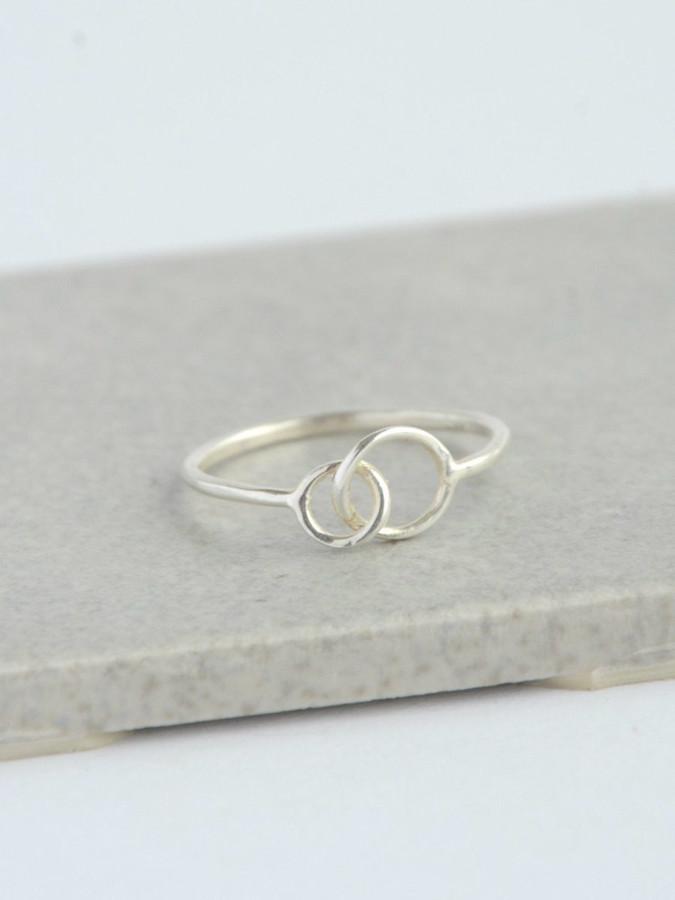Dainty sterling silver ring  | Fair Anita