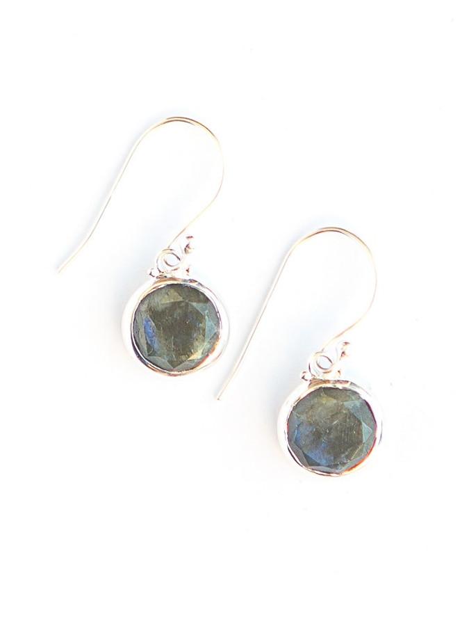 Reflection Sterling Earrings - Labradorite