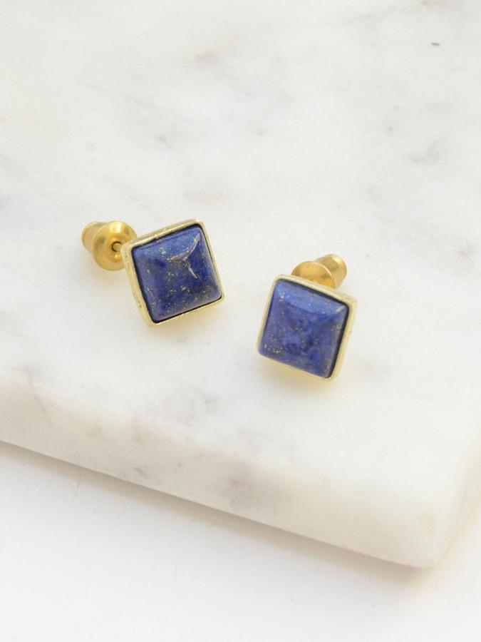 little lapis earrings   Fair Anita