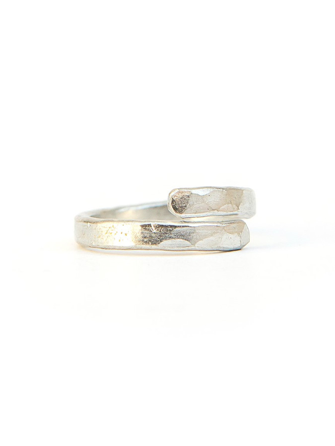 Twisted Vine Ring - Silver