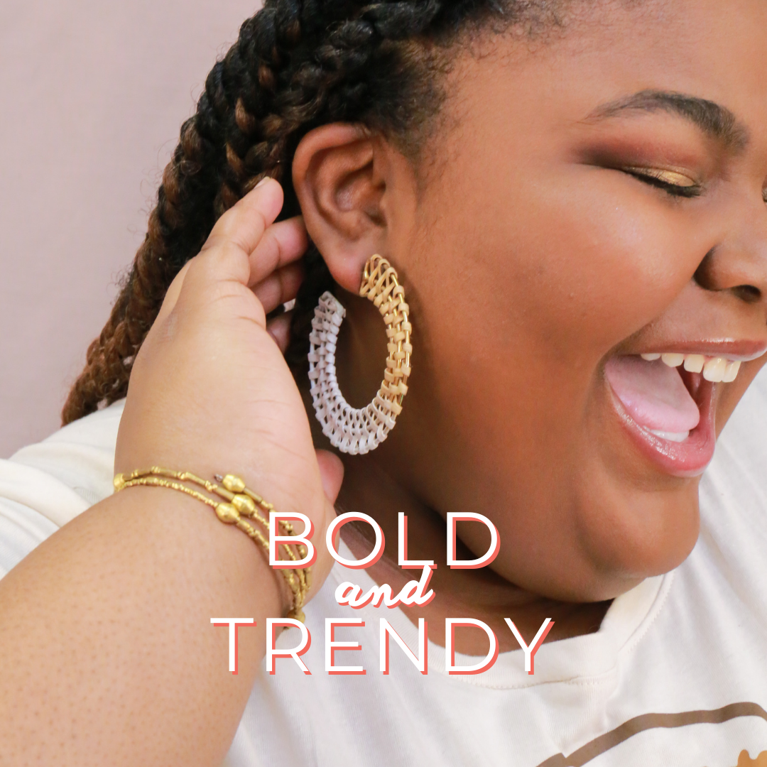 Bold and trendy ethical jewelry