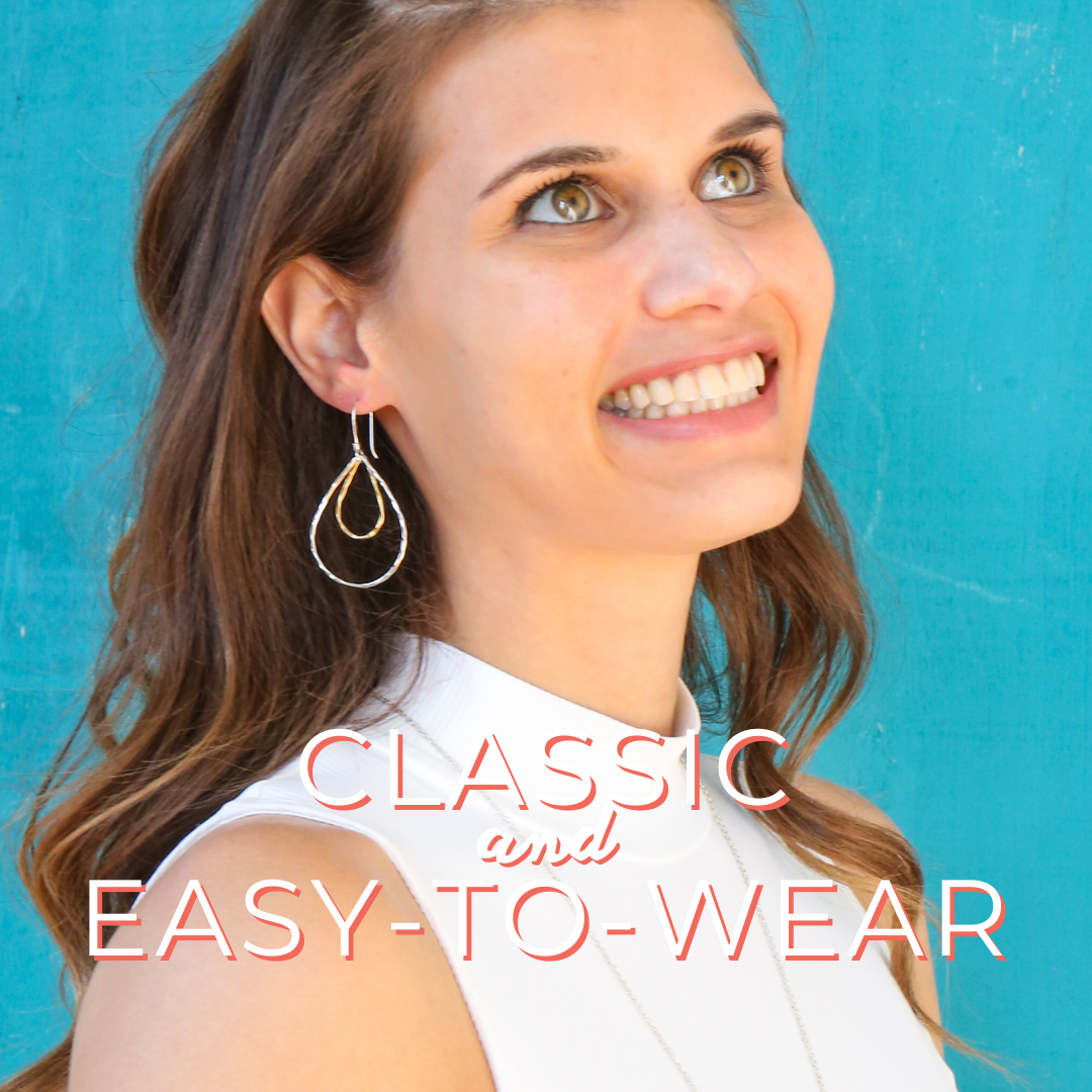 classic + easy to wear ethically made jewelry