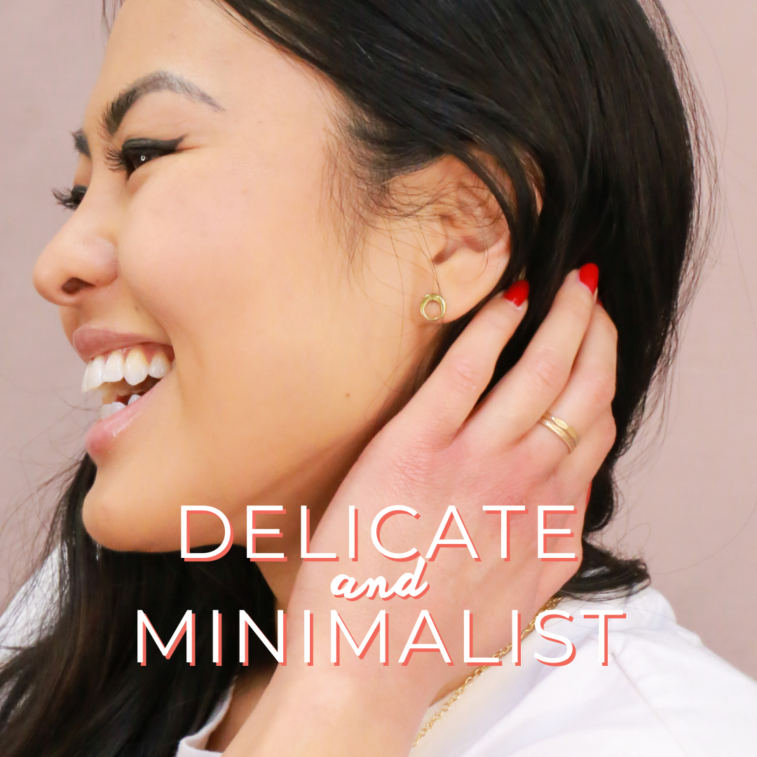 sustainable + affordable minimalist jewelry