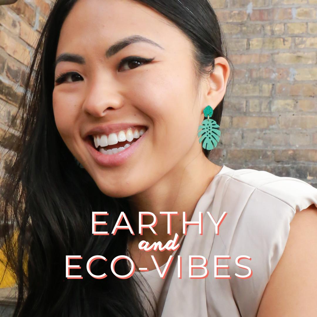 sustainable + eco-vibes jewelry