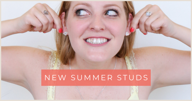 New Ethical Jewelry for Summer, Fair Anita, Stud Earrings