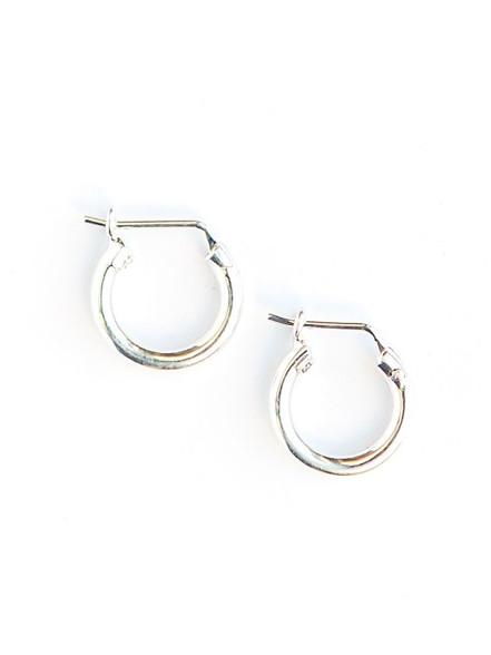 boho handmade fairtrade hoop earrings Ariana hoop earrings silver 92.5 silver 92.5