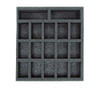 (W/H) Warmachine/Hordes Small Troop Half Foam Tray (PP.5-1.5)