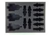 (30K) 3 Javelin Attack Speeder 10 Scimitar Jetbike Foam Tray (BFL-3)