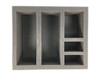 Full Deck Box with Token Holders Foam Tray (BFB-3)