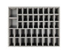 24 Medium 18 Large 2 X-Large Troop Foam Tray (BFL-2)