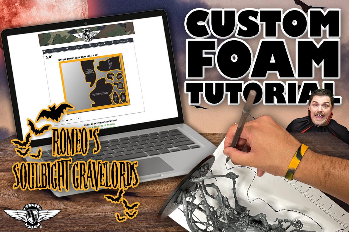 Building Out a Custom Foam Tray Tutorial