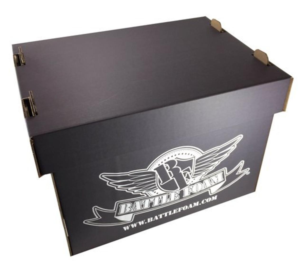 Battle Foam Large Stacker Box Empty Black Battle Foam Free import and export records for battlefoam limited. battle foam
