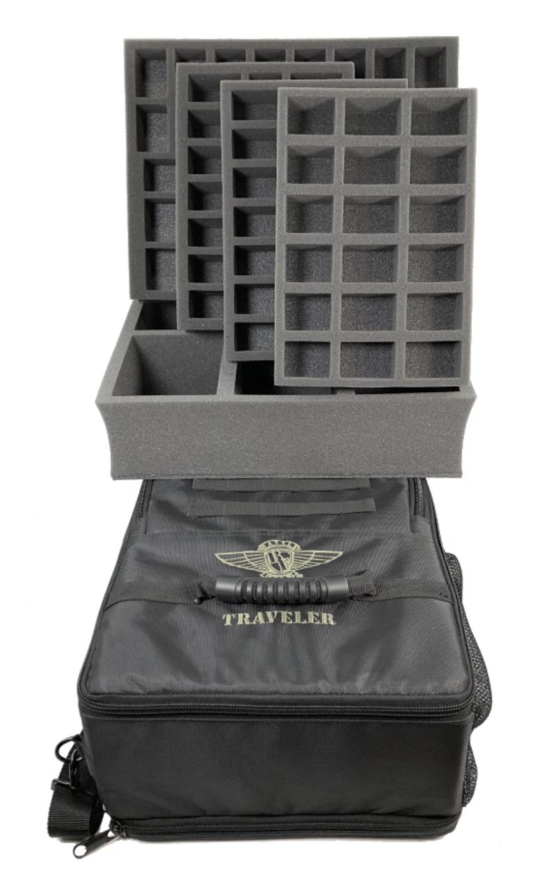 Battle Foam Traveler Bag Standard Load Out Battle Foam Revolutionary carrying cases and custom cut foam trays for miniature toys. battle foam