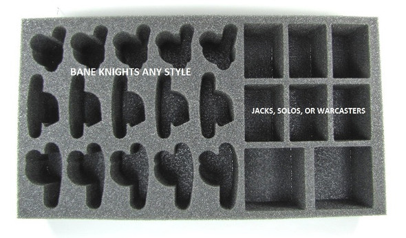 (Cyrx) Cryx Bane Knights Troop Foam Tray (PP-2.5)