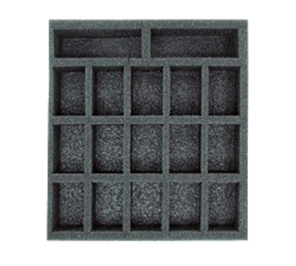 (W/H) Warmachine/Hordes Small Troop Half Foam Tray (PP.5-1.5)