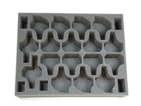 (Tyranids) 17 Warrior Foam Tray (BFL-3)
