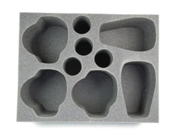 (Tyranids) 2 Carnifex 4 Zoanthrope 3 Trygon Foam Tray (BFL-6)