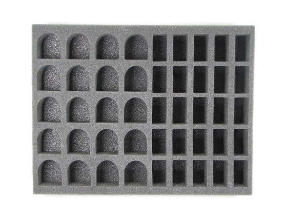 (Space Marines) 25 Assault Marine 20 Terminator Foam Tray (SM02BFL)