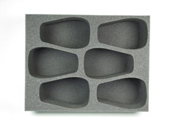 (Tyranids) 6 Carnifex Foam Tray (BFL-4)