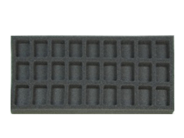 (Gen) Flames of War 27 Troop Foam Tray (BFM-1)