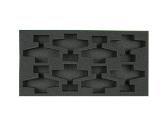 (Gen) Flames of War 8 Airplane Foam Tray (F03BFM-1.5)
