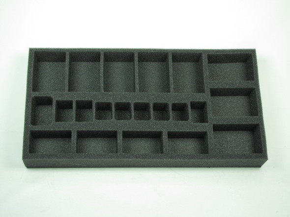 (British) Flames of War British Royal Artillery Foam Tray (UK05BFM-1.5)