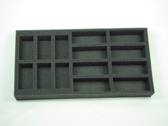 (FMG) Flames of War Firestorm Market Garden German Tank Foam Tray (FMG07BFM-1.5)